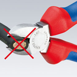 Knipex Cable Shears with Spring Action