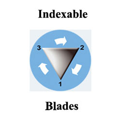 Indexable Cutting Blades
