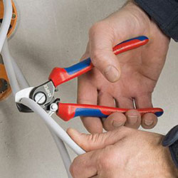 Cable Shears with Spring Action